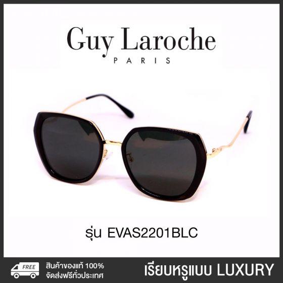 Guy Laroche แว่นกันแดด รุ่น EVAS2201BLC (ดำ)